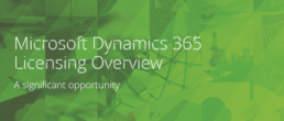 Microsoft Dynamics 365 Licensing overview
