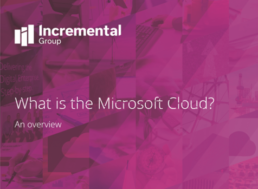 What is the Microsoft Cloud