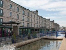 Commercial Quay in Edinburgh