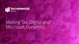 making tax digital and Microsoft dynamics guide