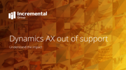 dynamics ax out of support - a guide