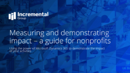 measuring and demonstrating impact - a guide for nonprofits