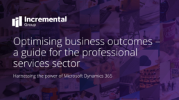 optimising business outcomes - professional services guide