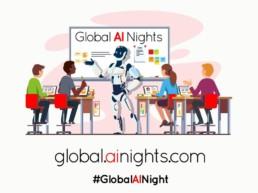 global AI nights graphic