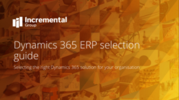 Dynamics 365 ERP selection
