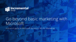 cover image for dynamics 365 for marketing image