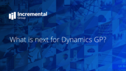 Dynamics GP cover photo - guide