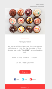 d365 marketing email example