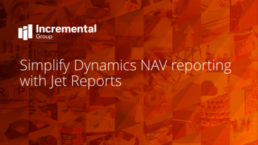 Simplify dynamics nav reporting with Jet reports - cover photo