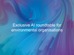 AI roundtable event cover image