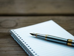 stock image of a notepad to represent release notes