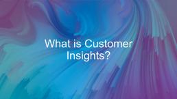 D365 Customer Insights webinar cover