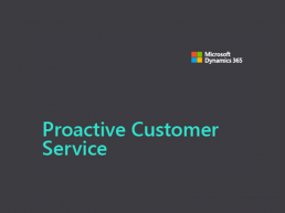 proactive customer service event cover