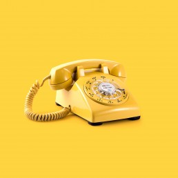 stock image of a telephone to represent call centres