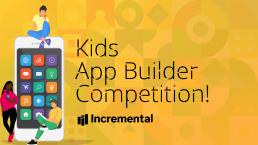 kids app builder competition banner image