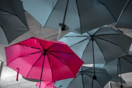 stock image of a standout umbrella