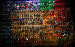 Stock image of a wall of keys to represent key updates