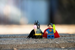Mini model superheroes to represent hero features of Dynamics 365 Business Central