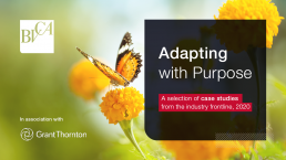 Adapting with purpose BVCA report cover